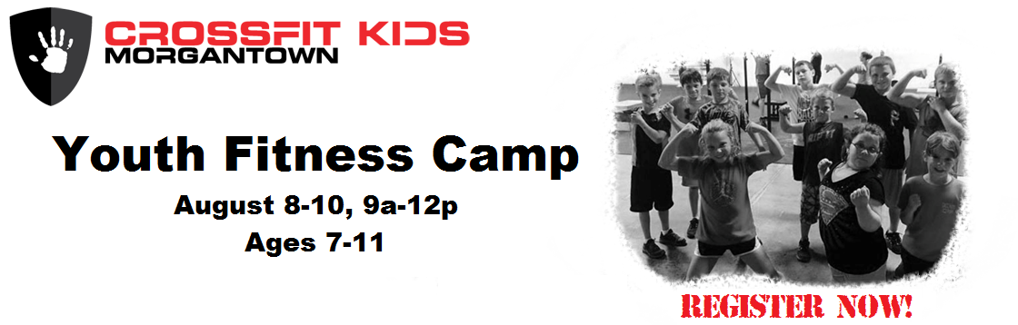 CrossFit Kids Youth Fitness Camp