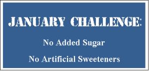 January Challenge Card